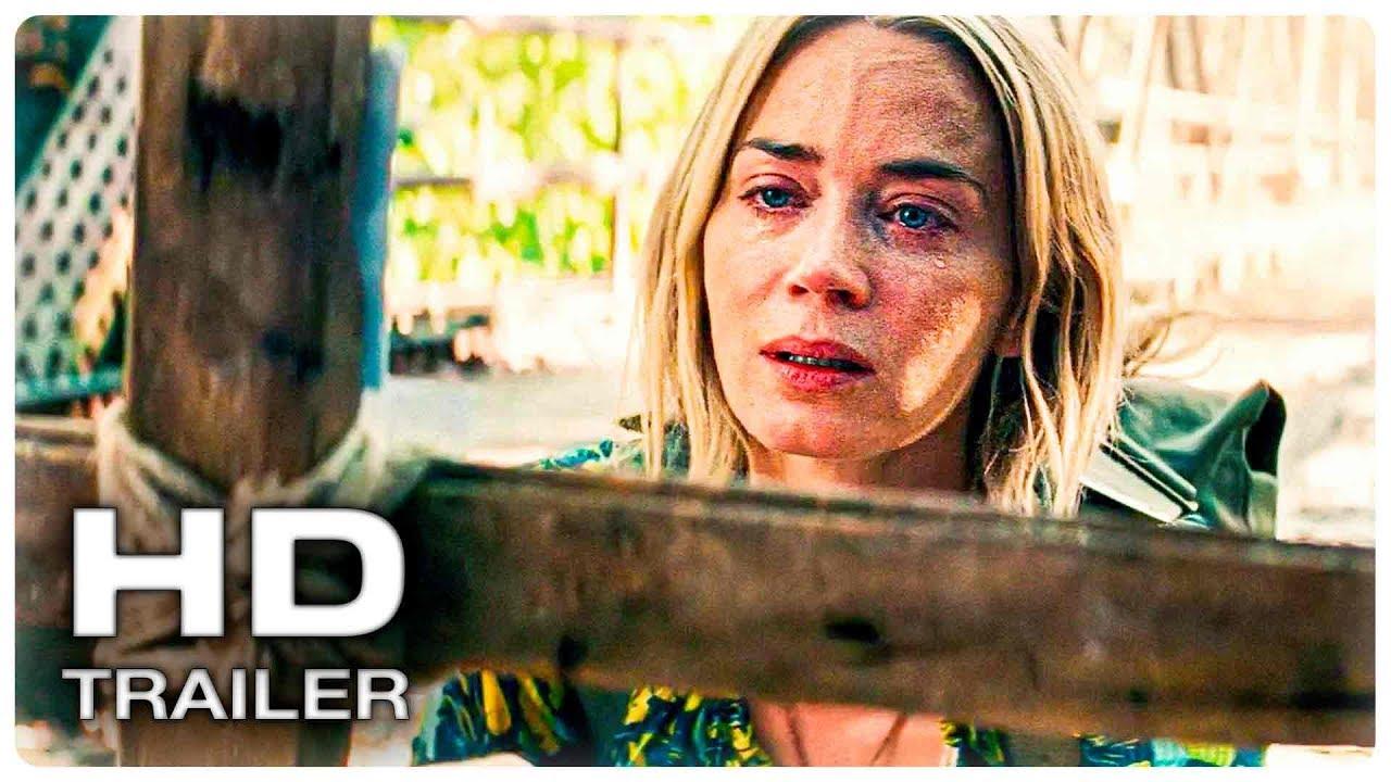 ТИХОЕ МЕСТО 2 Русский Super Bowl Трейлер #1 (2020) Эмили Блант Horror Movie HD