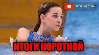 ИТОГИ КОРОТКОЙ ПРОГРАММЫ Женщины Кубок России по Фигурному Катанию 2020 Пятый Этап