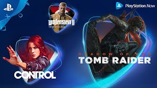 Playstation Now - March 2020 New Games | Ps4