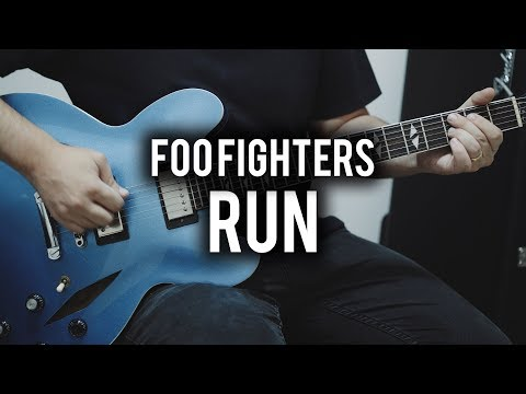 Foo Fighters - Run - Guitar Cover - Fender Chris Shiflett Telecaster & Gibson DG335 Replica