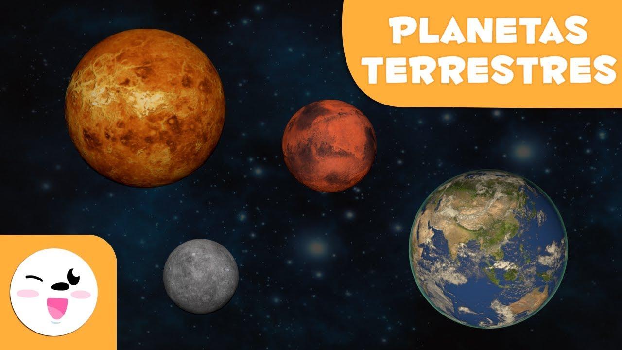 PLANETAS TERRESTRES | El Sistema Solar para niños ...