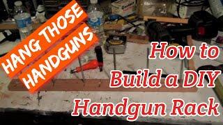 Diy Handgun Rack