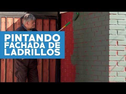 Cómo Pintar La Fachada De Ladrillos De Una Casa Youtube