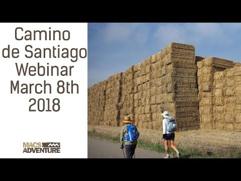 Camino de Santiago  Webinar 8 March 2018
