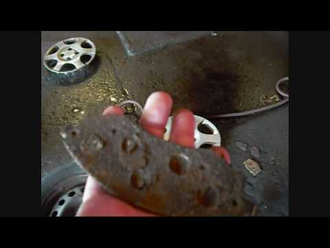 STUBBORN  CAR  FRONT BRAKES  REPAIR – FROM BEGINNING TO END
