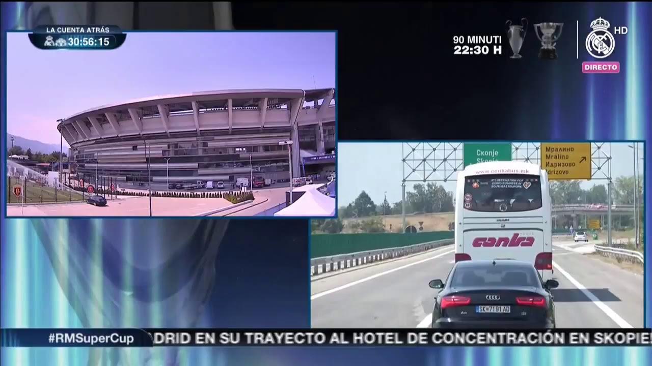 Реал Мадрид стигнаа во Скопје
