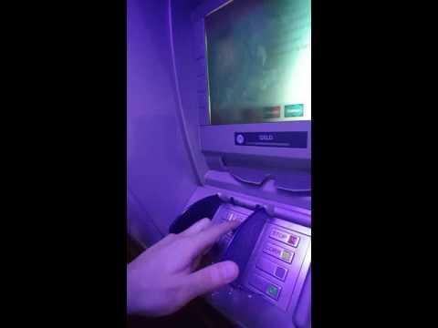 Geldautomat Trick