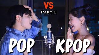 Download POP과 KPOP의 대결   Sing Off   이태원클라쓰,BTS, 아이즈원, NCT, Dua Lipa, Pura Pura Lupa   Mashup