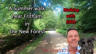 A July walk near Fritham in The New Forest with some commentary and soft background music #stayhome
