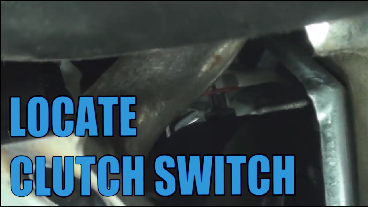 Where Is The Clutch Switch Cruise Control Youtube