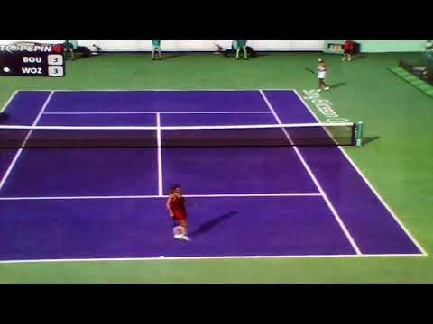 Genie Bouchard vs, Caro Wozniacki Miami