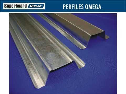 Fijaci n de perfiles omega para recubrimiento con sistemas for Medidas perfiles pladur
