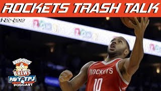 Rockets Talk Trash To Warriors | Hoops & Brews
