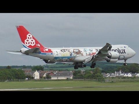 Prestwick Airport Plane Spotting 14/06/2017