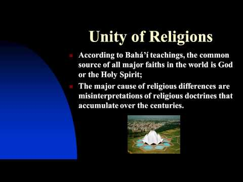 CRASH COURSE IN WORLD RELIGIONS: The Bahá'í Faith