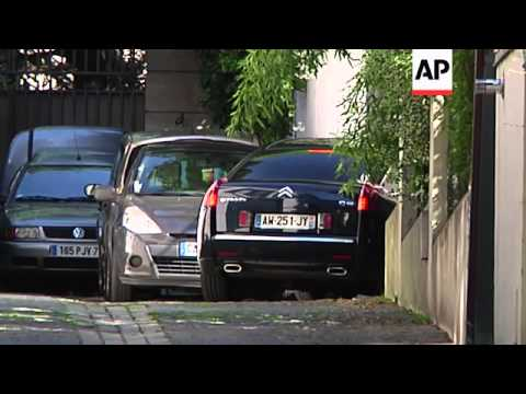 Lawyer who also faces charges arrives at Sarkozy home