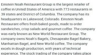 Einstein Noah Restaurant Group, Inc Corporate Office Contact Information Thumbnail