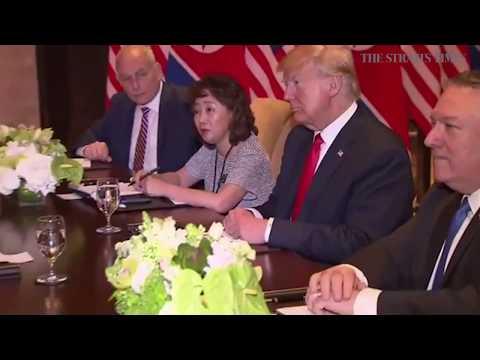 Trump-Kim summit: Trump, Kim at bilateral talks