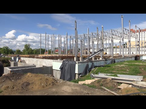 У Коломиї планують завершити першу чергу будівництва басейну до кінця року