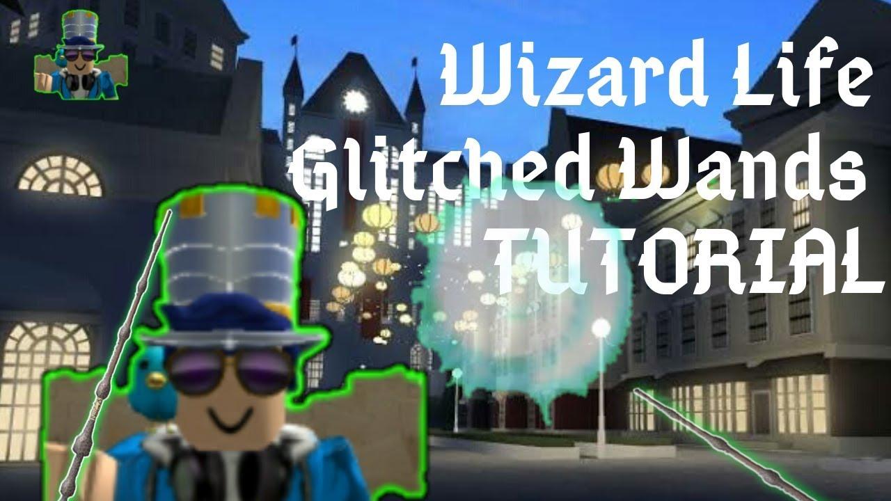 Roblox Wizard Glasses Wizard Life Broken Wands Roblox Tutorial Youtube