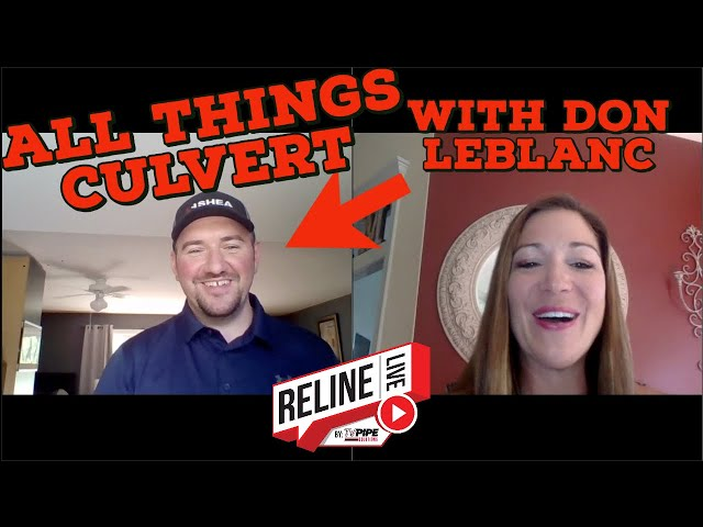 Reline LIVE: All Things Culvert with Don LeBlanc