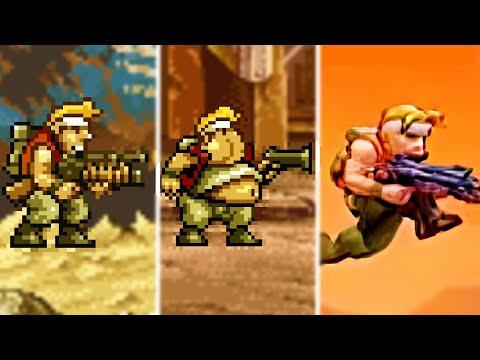 Evolution Of Metal Slug Games 1996-2019