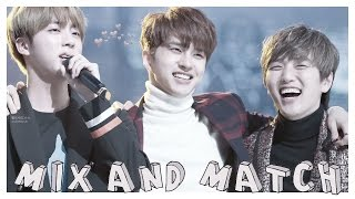 KPOP; MIX AND MATCH. #1