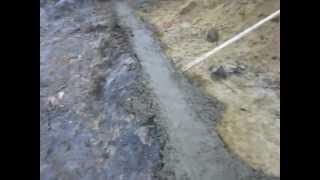 Фундамент. Заливка бетона. ч.4