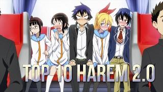 TOP 10 ANIME HAREM 2.0 (The most beautiful girls)