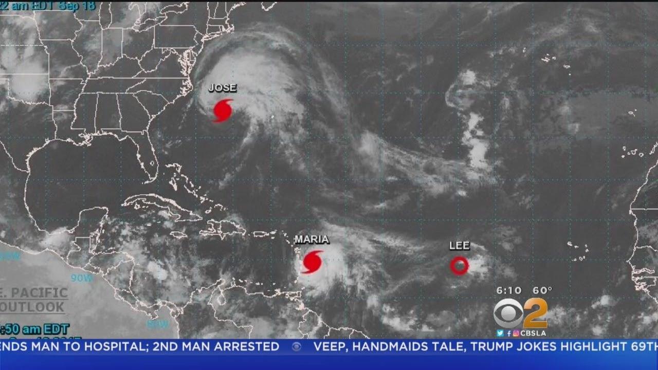 Eastern Caribbean Islands Brace For Hurricane Maria