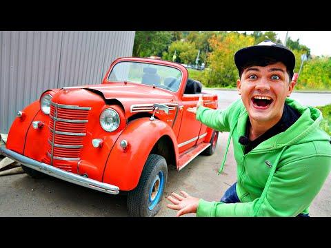 Купили вслепую автомобиль на аукционе за 200 тысяч рублей! Заведется ли он?