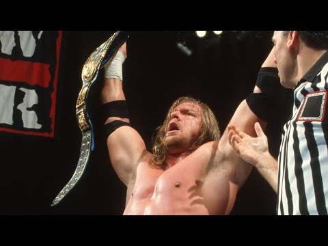 Triple H wins his first WWE Championship: Raw, Aug. 23, 1999