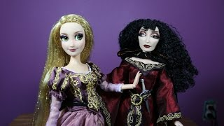 Rapunzel and Mother Gothel Doll Set - Disney Fairytale Designer Collection Review