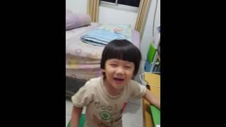 Lesson to sing - yi er san si wu liu qi mandarin kids song - wo de peng you zai na li - boy singing
