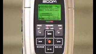 Quick guide to Zoom H2 MP3 recorder