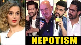 Kangana Ranaut Open INSULTED by Bollywood Celebs for NEPOTISM Comment In Public Judgemental Hai Kya