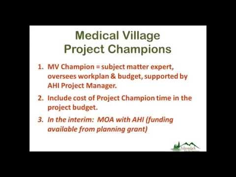 Medical Village Project Team Meeting