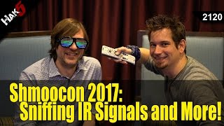 Shmoocon 2017: Sniffing IR Signals and More! - Hak5 2120