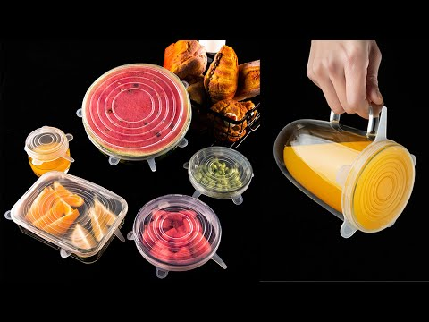 Silicone Stretch Lids Reviews 2020 ——Reusable and durable