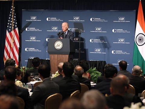 Joe Biden on U.S.-India Relations