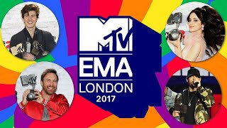 MTV EMA 2017 nominees & winners