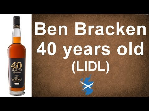 #79 - Ben Bracken 40 year old Highland Single Malt Whisky Review from WhiskyJason