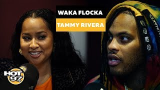 Waka Flocka & Tammy Rivera On Fighting For The Family, Why He Stopped Rapping & Renewing Their Vows
