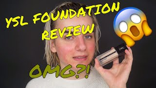 YSL ALL-HOURS FOUNDATION REVIEW | Gingerbread Bae