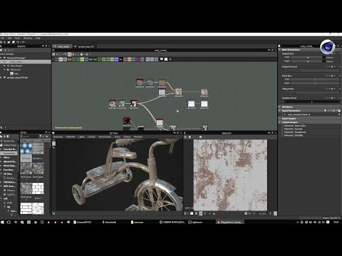 Empowering your texturing workflow using Substance in Cinema 4D / Nicolas Wirrmann (Allegorithmic)