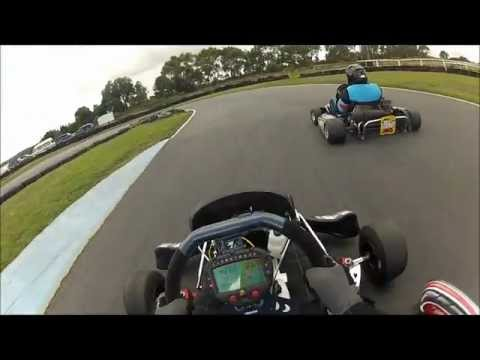 Go Kart Flip Roll Crash At Stony Creek Go Karts GoPro HD HERO 2