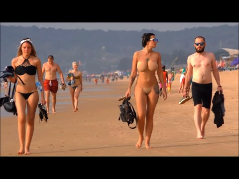 Beach Goa s naked