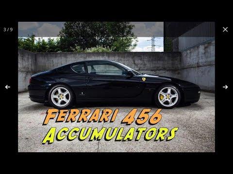 Ferrari 456 Common Problems – Accumulators easy replacement video 158693
