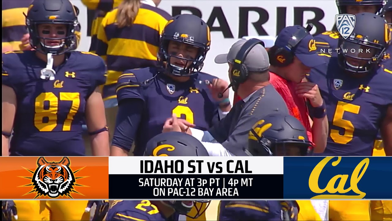 Cal Football Idaho State Game Preview Youtube