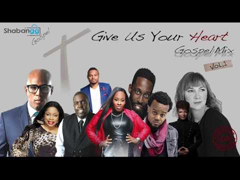 """2018 Gospel Mix CD - """"Give Us Your Heart""""   60 MINS OF WORSHIP & PRAISE SONGS"""